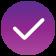 Purple Check Icon